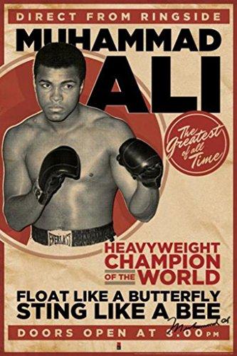 Muhammad Ali - Vintage Poster Poster Print, 24x36