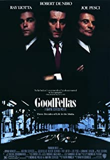 Goodfellas Movie Poster (11 x 17 Inches - 28cm x 44cm) (1990) Style A -(Robert De Niro)(Ray Liotta)(Joe Pesci)(Paul Sorvino)(Lorraine Bracco)(Frank Sivero)