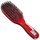 Torino Pro Hard Wave Brush By Brush King - #1840/7 Row hard/Great For wolfing and extra pull - Great...