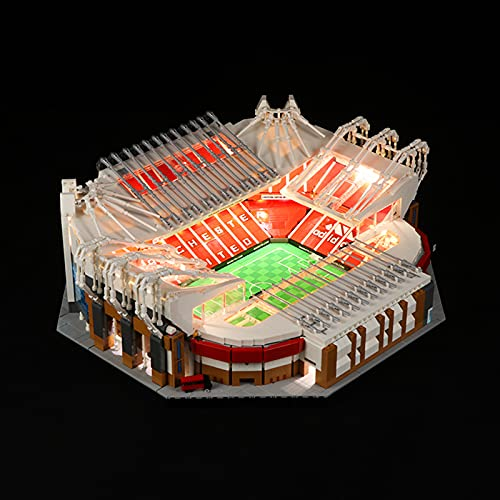 ADMLZQQ Juego de Luces LED para Lego Old Trafford - Manchester United 10272, Funciona con USB, no Incluye el Modelo