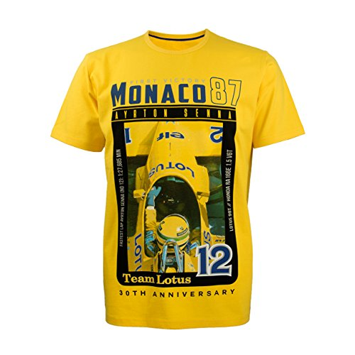 MBA-SPORT Ayrton Senna Lotus Kollektion Kinder T-Shirt 1st Victory 1987
