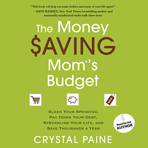 The Money Saving Mom's Budget audiobook cover art
