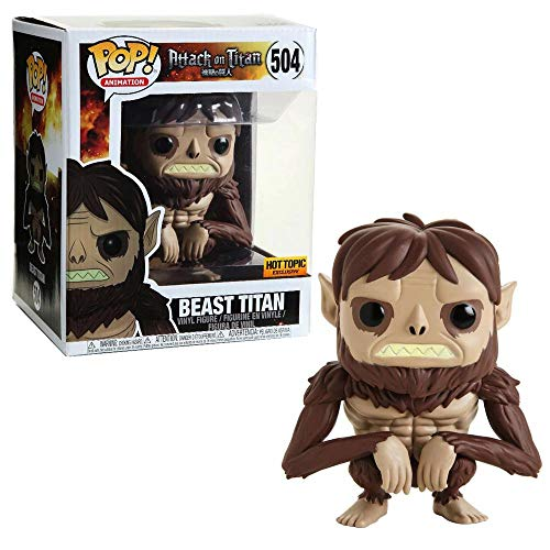 Funko Pop! Attack on Titan 6 Beast Titan Exclusive #504