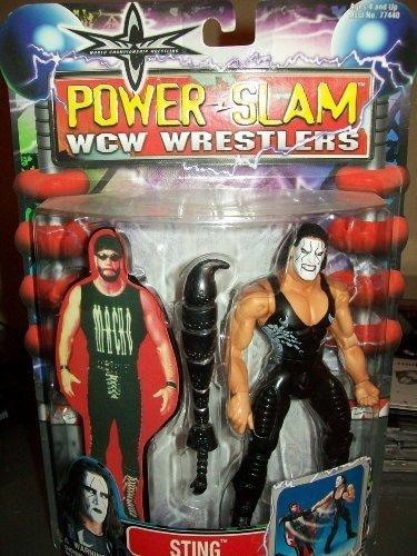 Toybiz WCW Power Slam Wrestlers Sting distributed by Toy Biz 2000