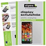 dipos I 6X Schutzfolie matt kompatibel mit Elephone P9000 Folie Bildschirmschutzfolie