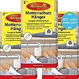 Aeroxon Antipolillas – 3 x 2 unidades – Nuevo completamente inodoro – fiable, fuerte...