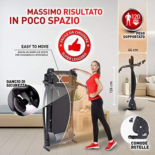 Folding-Electric-Treadmill-With-Cardio-Sensor-1500-W-25-HP-Peak-Output