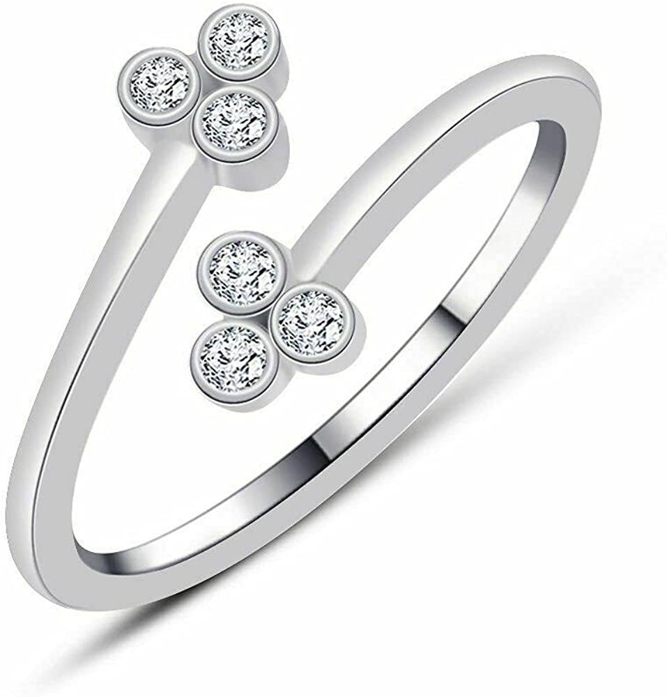 Max 81% OFF 14k White Arlington Mall Gold Finish 925 Sterling Cubic Zirconia Silver T Round