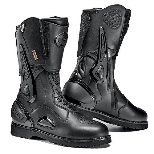 Sidi Armada Gore-Tex Crossover - Botas de Moto, Negro, 44