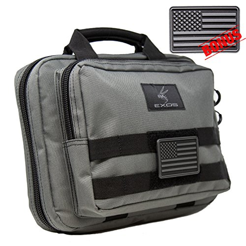 Exos Double Pistol Case (Grey)