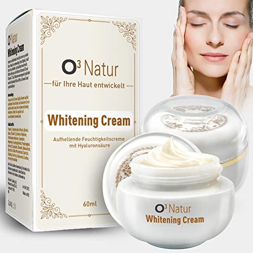 O³ Pigmentflecken entferner // 2 Stück // Whitening cream - Aufhellende Gesichtscreme mit Vitamin C // Pigmentflecken Altersflecken Sommersprossen entfernen // 2x30ml
