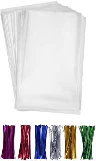 200 Poly Treat Bags 5x7 with 4