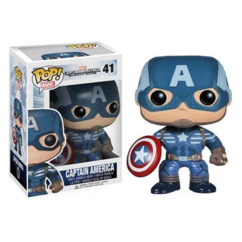 Funko 3787 Marvel: Captain America 2 3787 Pop Bobble Figure