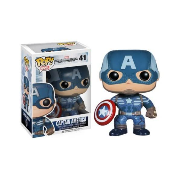 Funko Pop Capitán América (Capitán América: The Winter Soldier 41) Funko Pop Capitán américa