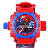 Anitas 24 Images Spiderman Projector Watch for Kids, Diwali Gift, Birthday Return Gift