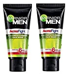 Garnier Men's Acno Fight Face Wash - 100ml (Pack Of 2)
