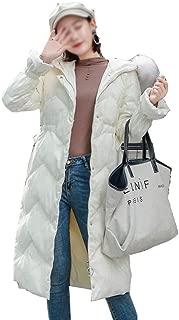 LUKEEXIN Fashion Winer Long Wave Down Fur Collar Down Jacket for Women