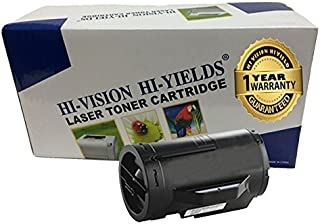 HI-Vision 1 Pack Compatible DELL S2810X High Yield (6,000 Pages, 593-BBMF) Black Toner Cartridge Replacement for H815dw / S2810dn / S2815dn Printers
