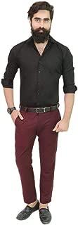 Gurus Fashion Pink Pure Cotton Slim Fit Formal | Casual Shirts for Men | Shirts for Men | Men's Shirts