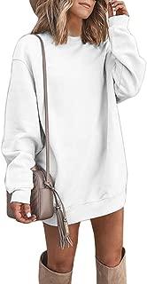 Best sweatshirt dress oversized Reviews