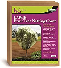 Tierra Garden 50-3530 Haxnicks 13.1' x 13.1' Fruit Tree Cover, Easy to Use, Cover and Protect Plants from Harsh Weather, Animals, and Pests