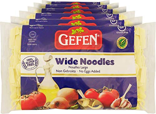 Gefen Gluten Free, Egg Free, Wide Noodles 9oz (6)