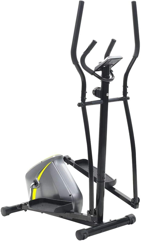 Festnight Crosstrainer     Fitness Heimtrainer Ergometer     Stepper Ellipsentrainer     LCD Display     8 Widerstandsstufen 10 kg Drehmasse für bis zu 100 kg