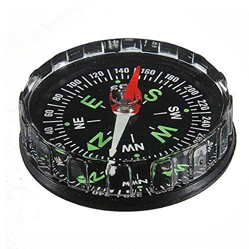 Ungfu Mall Mini-Tasche Kompass Flüssigkeit im Freienüberlebens Navigations-Tool
