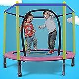 Mopoq Rebounder Trampolin for Kinder mit Sicherheitskabine, Innen- oder Außen Exercise Fitness...