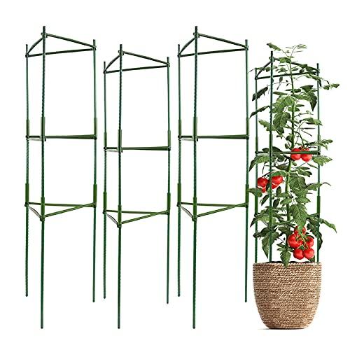 IPSXP Vegetable Trellis, Garden Plant Support Stakes for Climbing Plants, Vegetables, Flowers,...
