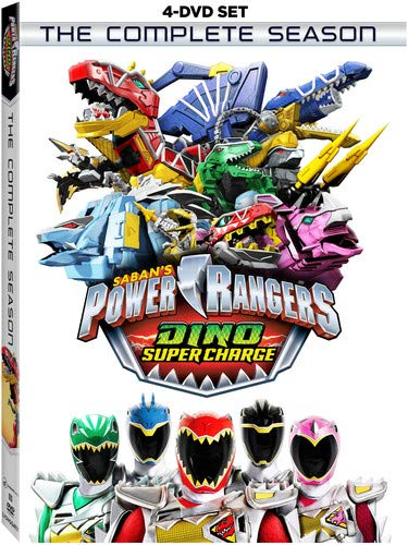 POWER RANGERS DINO SUPER CHARGE: COMPLETE SEASON - POWER RANGERS DINO SUPER CHARGE: COMPLETE SEASON (4 DVD)