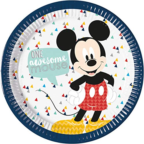Assiette 23 cm Mickey Mouse Awesome
