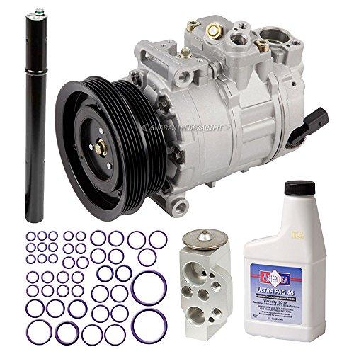 AC Compressor & A/C Repair Kit For Volkswagen VW Jetta Golf Rabbit GTI New Beetle & Audi TT RS - BuyAutoParts 60-81758RK NEW