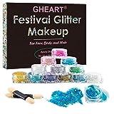 Kit polvere Glitterata, Glitter Make up, Glitter Body Gel, Glitter Chunky Sparkle Glitter ...