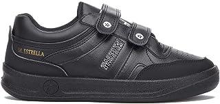 Paredes Velcro Negro Deportivo Estrella trabajo, comodidad, plantilla momery foam, seguridad, cordones, 35