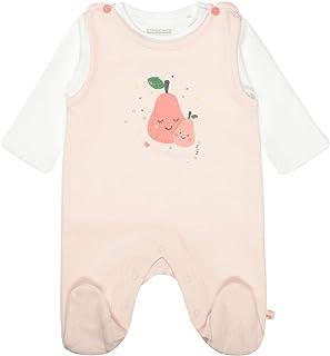 Staccato Organic Cotton Strampler mit Shirt - Soft Rose