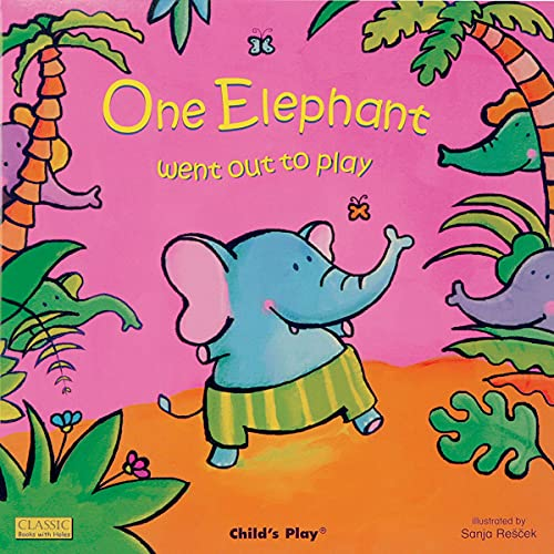 『One Elephant Went Out to Play』のカバーアート