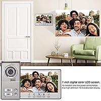 ホーム セキュリティのための高い信頼性 7 インチのデジタル カラー LCD スクリーンのインターホンのカメラ(American standard (110-240V), transparency)