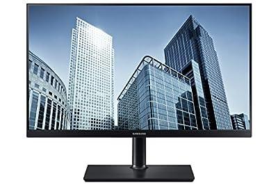 Samsung LS24H850QFUXEN WQHD 24-Inch Monitor - Black