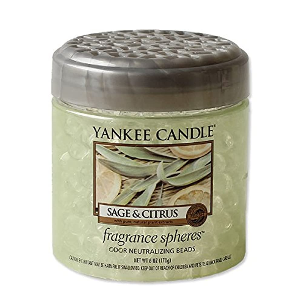 三番農民想定YANKEE CANDLE?ヤンキーキャンドル フレグランスビーズ セージ&シトラス