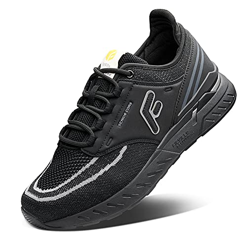 FitVille Men's Extra Wide Athletic Sneakers Comfortable Trail Running Shoes for Flat Foot with...