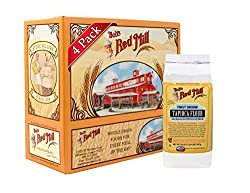 Bob's Red Mill Tapioca Flour, 20-Ounce (Pack of 4) : Barley Flours