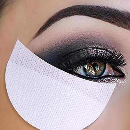 Ombre à Paupières Autocollant, KISSION Fard à Paupières Maquillage Autocollants Greffés d'isolement de Cils sous les Autocollants de l'oeil Fumé Outil Cosmétique (20Pcs)