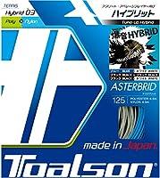 トアルソン TOALSON テニスガット 単張り アスタブリッド(ASTERBRID) 125 ブルー×ホワイト 7492510B ブルー×ホワイト 125