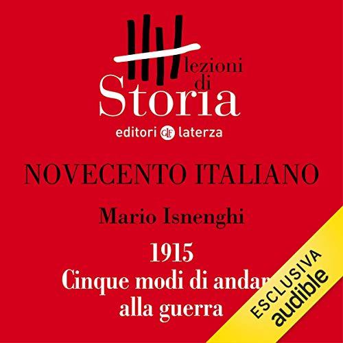 Novecento italiano - 1915. Cinque modi di andare alla guerra copertina