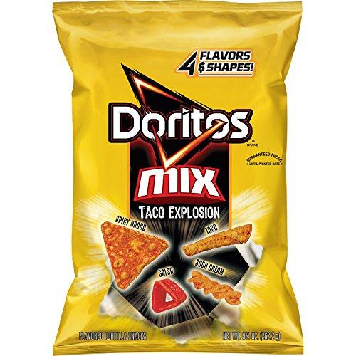 Doritos Mix, Taco Explosion, 9.25 Ounce