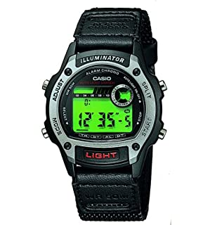 CASIO Men's Quartz Sports Watch with Green Dial Digital Display and Black Textile Strap W-94HF-8AVES (B000JC5UUO) | Amazon price tracker / tracking, Amazon price history charts, Amazon price watches, Amazon price drop alerts