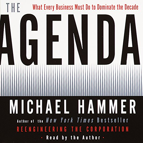The Agenda audiobook cover art