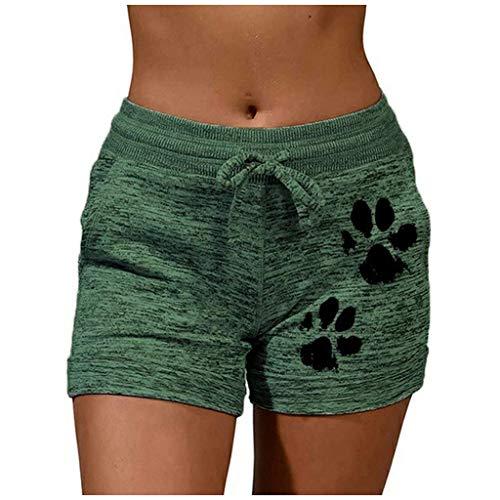 Yoga Hosen Frauen Kurze Hosen MäDchen Taschen Lose BeiläUfige Hosen Shorts Damen Jeans Kurze Hosen Damen Sommer High Waist
