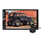 Aigoss Autoradio Bluetooth 2 Din 7' Touch Screen per Stereo Auto Radio Vivavoce Lettore MP5 con...